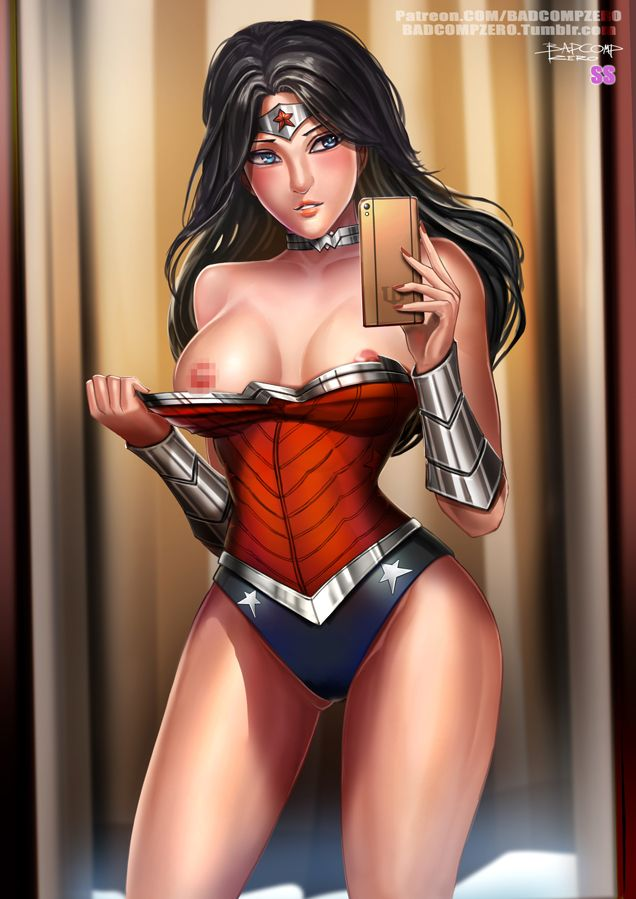 Nude wonder woman fanart