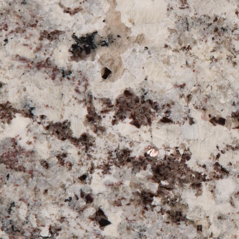Stonemark 3 In X 3 In Granite Countertop Sample In Alaska White P Rsl Alawht 3x3 In 2020 Granite Countertops Granite Countertops Kitchen Granite