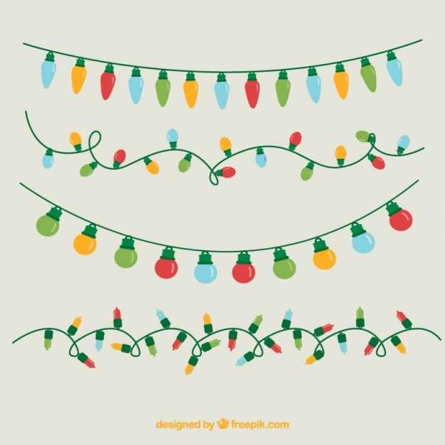 Download Assortment Of Colored Christmas Lights For Free Christmas Lights Drawing Colored Christmas Lights Diy Christmas Lights