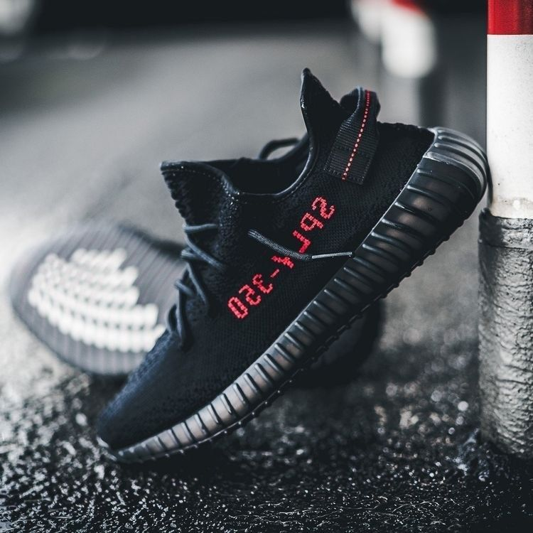 9cfed25b6fea3 Price of Adidas Yeezy Boost 350 V2 Core Black Red   Bred fake shoes ...