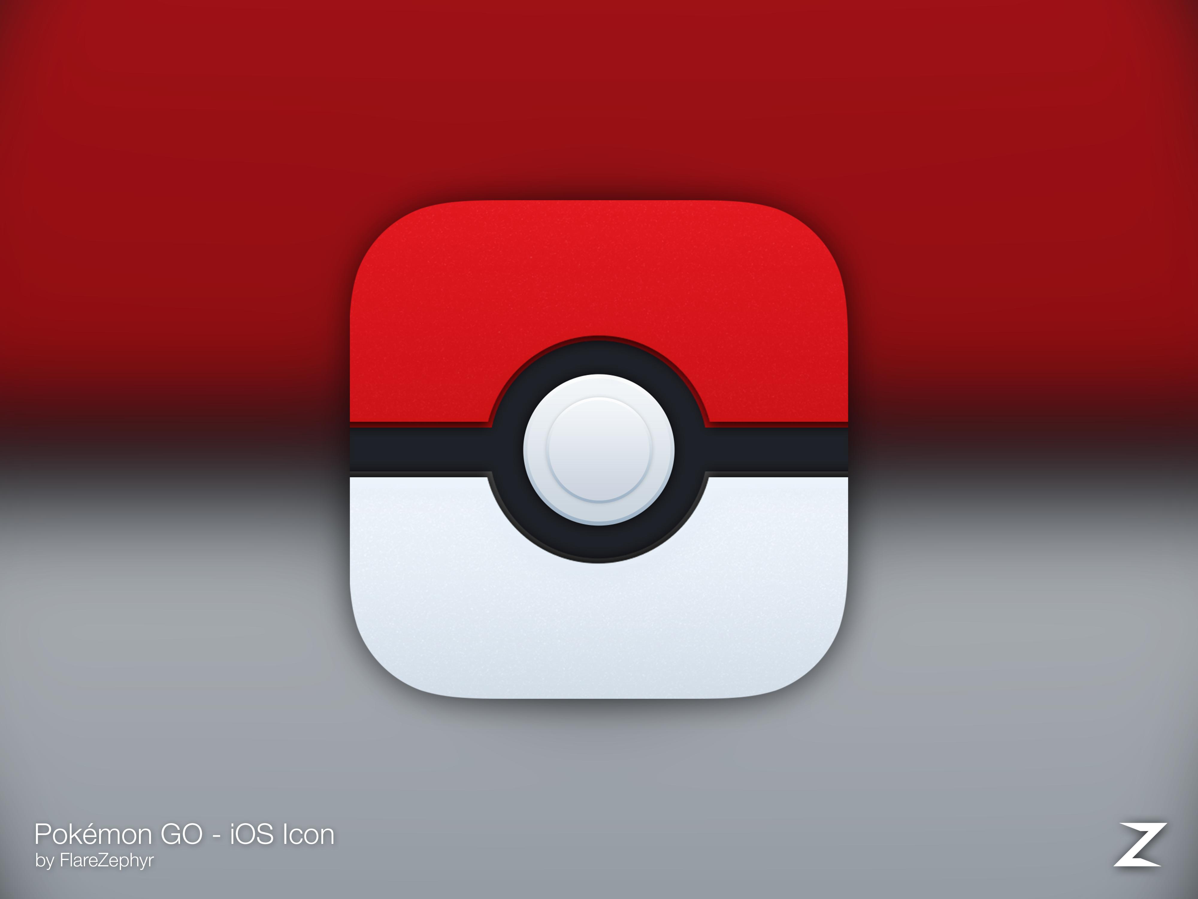 Pokemon GO Redesigned iOS icon