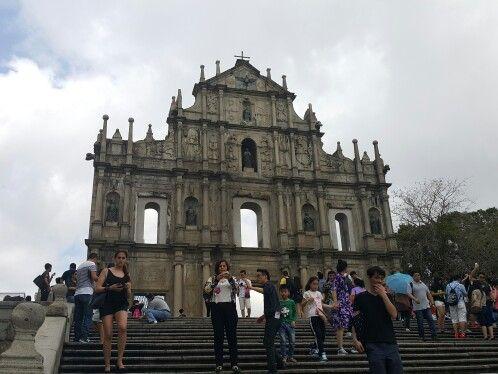 Ruins of St. Paul , Macau