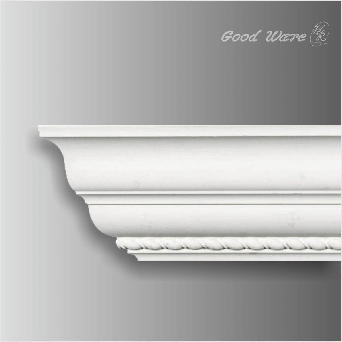Gm 01212 Classic Crown Molding With Rope Design Crown Molding