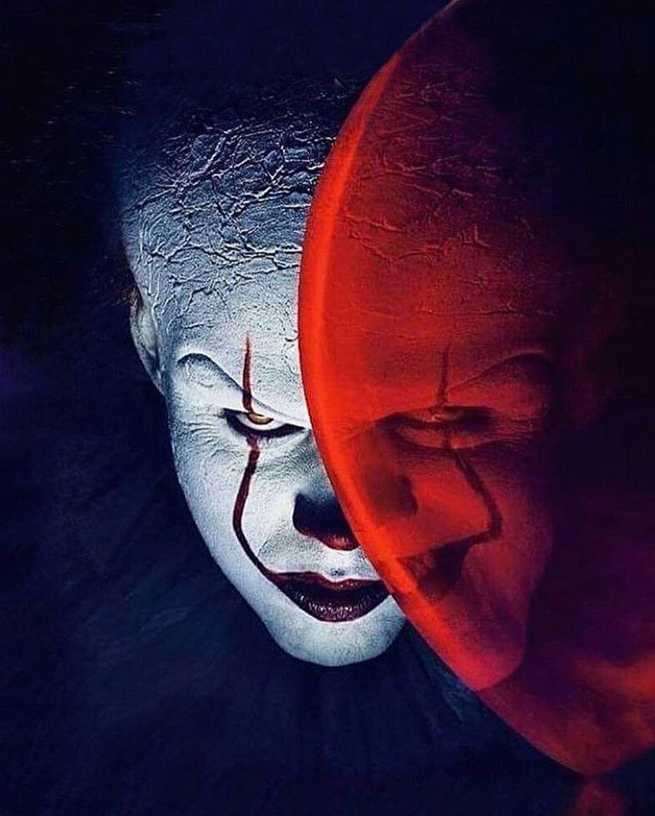Wallpaper It Clown Bill Skarsgard Horror 2017 Hd