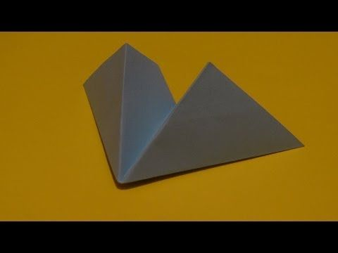 His Origami Paper Airplane Is Made Out Of A Square And Can Be Done Within Matter Few Minutes I Personally Tried Flying It