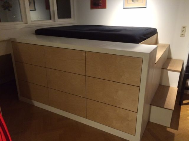 Hoogslaper Met Kasten Eronder : Slaapkamer met hoogslaper in inspirerend foto s van vers kast met