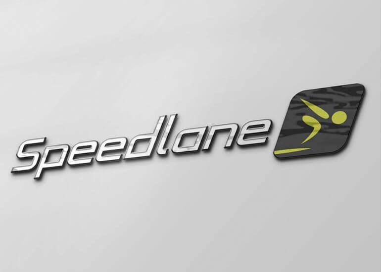 Σχεδιασμός λογότυπου Speedlane - logo #logo #design #swim #Σχεδιασμός #Λογότυπο
