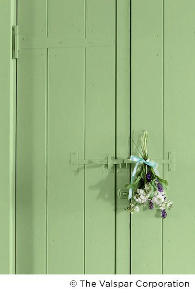 Bring Nature Inside With A Light Green Try Valspar