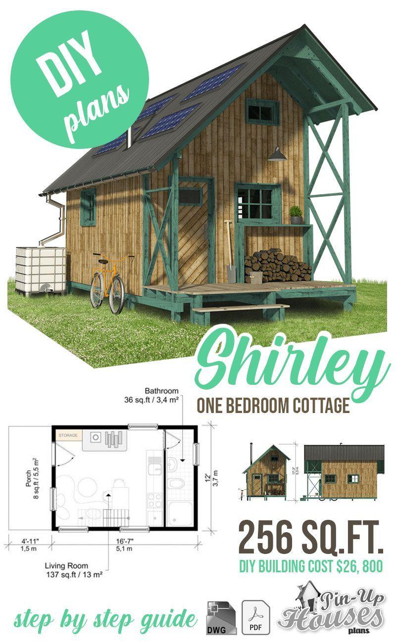1 Bedroom Cottage Plans Shirley Cottage Plan Wooden House Plans Cottage Style House Plans