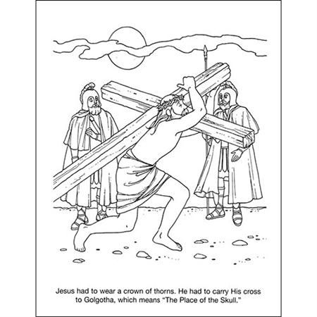 jesus arrested coloring page google search