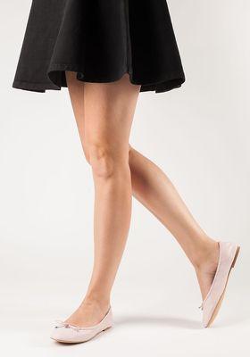 4cbb8b83fe85c0 Sam Edelman - Felicia Ballet Flat Light Pink Leather
