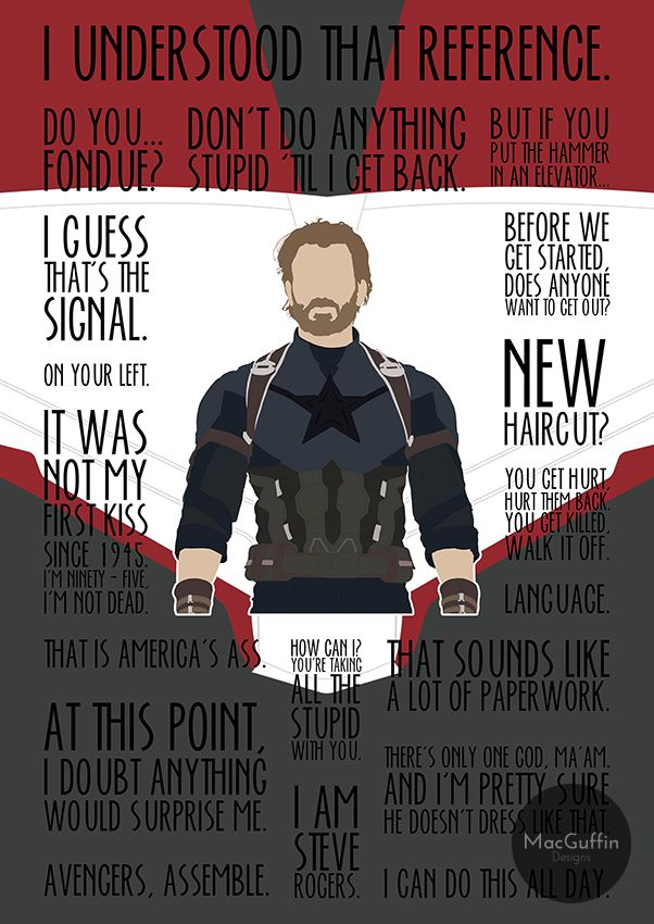 Captain America / Rogers 'Infinite' edition by MacGuffin Designs