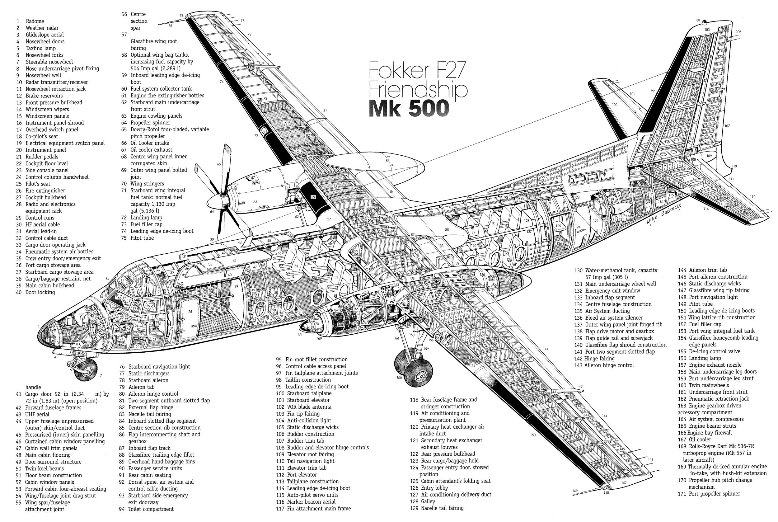 Tai Dc8 Cutaway Airliners3 T Cutaway Aviation Art And