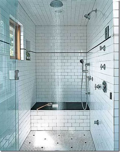 Bathroom, : Epic Picture Of Black And White Bathroom Decoration Design Ideas  Using White Subway Tile Bathroom Wall Including Mount Wall Curve Stainless  ...