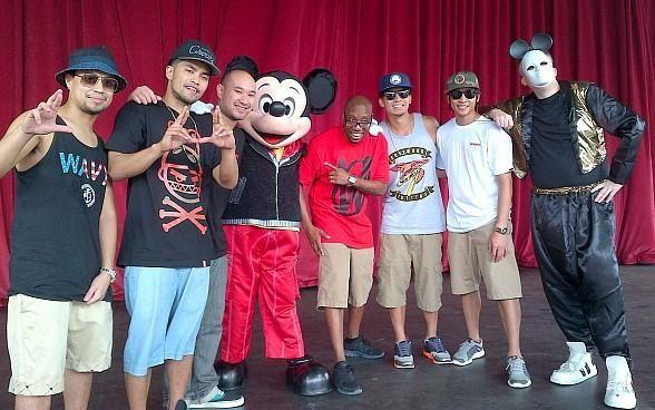 Jabbawockeez Take Over Disney World With Hip Hop Mickey Mouse Disney World Mickey Mouse Mickey