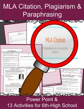 Mla Citation Practice Made Easier With Formatting Plagiarism And Paraphrasing Essaytip Format How To Cite A Source You Paraphrase