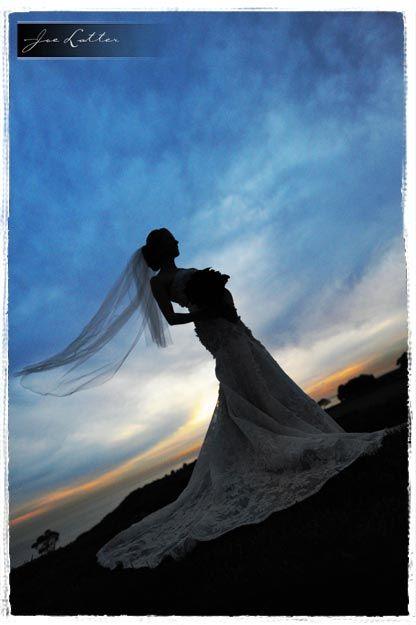 Pelican Hill Wedding Newport Beach - Veil, Angle, and Colors - Joe Latter Photography
