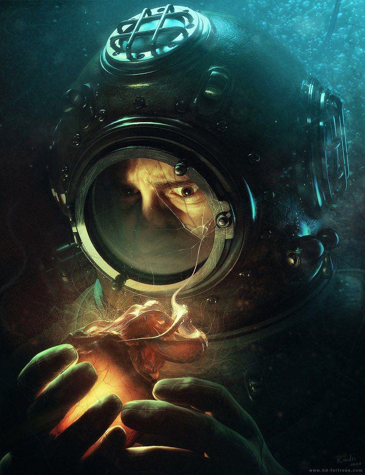 Unlocking the Ocean's Secrets  Deep Diver by Randis