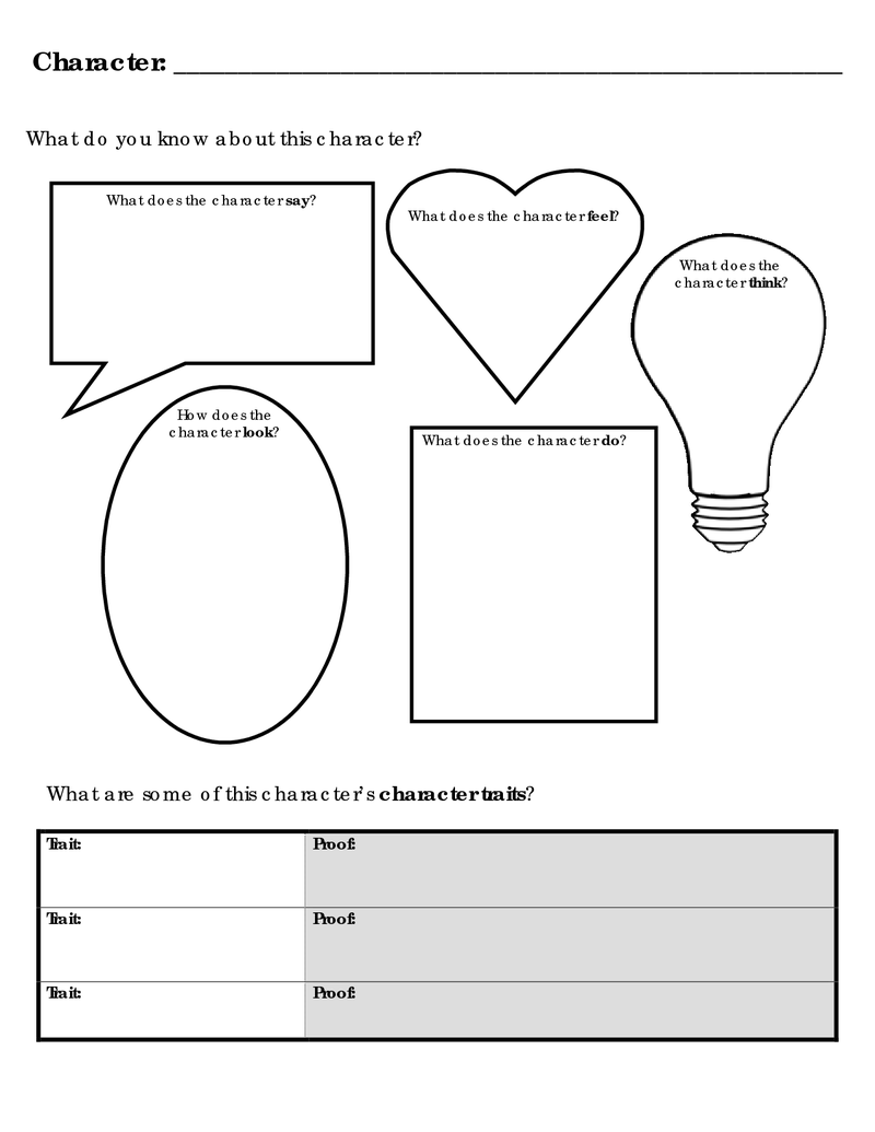 Page 1 Go Character Analysis Character Analysis Character Activities Reading Graphic Organizers [ 1035 x 800 Pixel ]