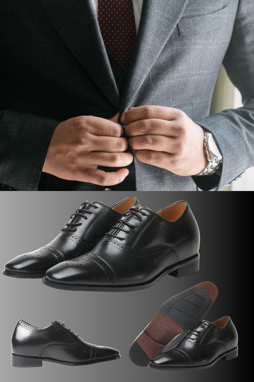Elegancki I Stylowy Model Ernesto Dodajacy 7cm Wzrostu I Jeszcze Wiecej Prestizu In 2020 Dress Shoes Men Oxford Shoes Men Dress