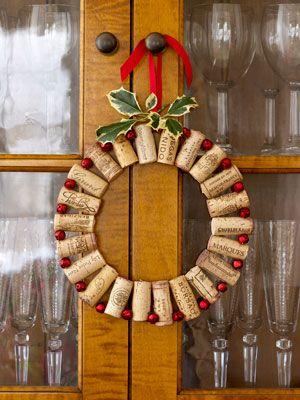 Christmas- Make this with corks we've saved.