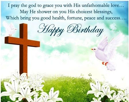 Religious Birthday Wishes Birthday Greeting Wishes Images – Religious Birthday Card Messages