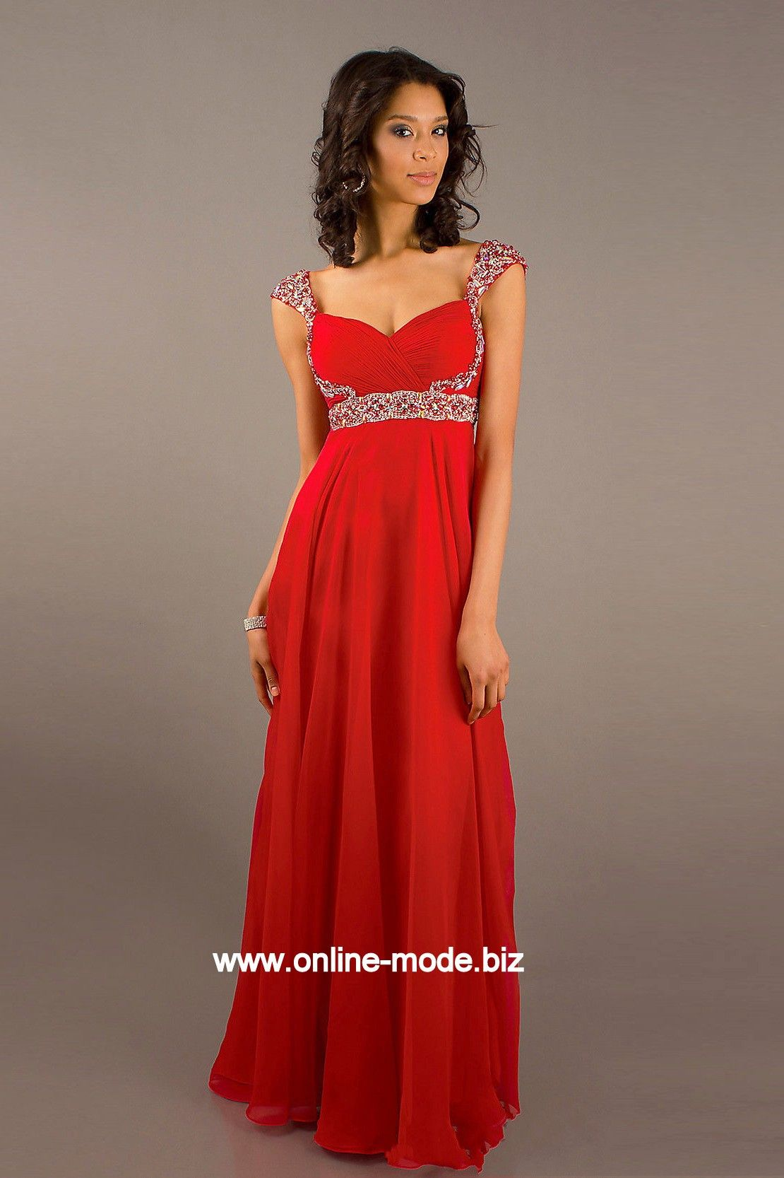 Abendkleider rot online
