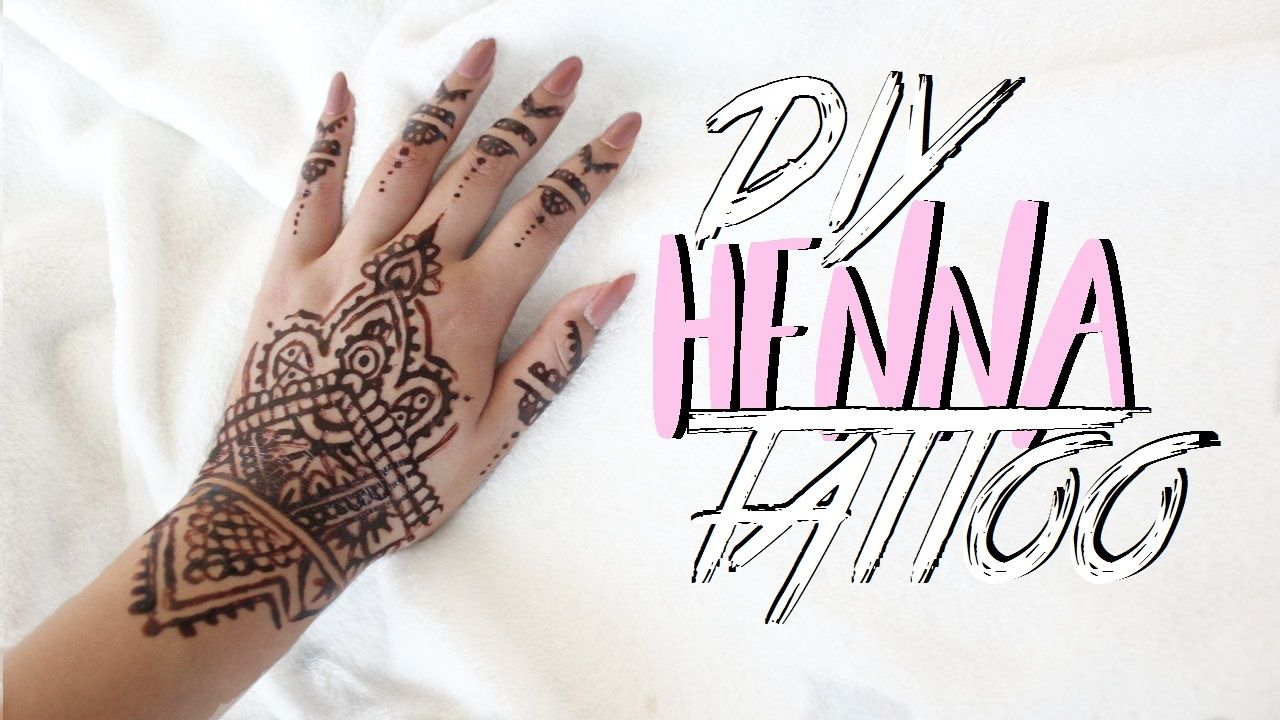Diy Henna Tattoo Without Henna Powder Henna Tattoo Diy Diy Henna Diy Tattoo
