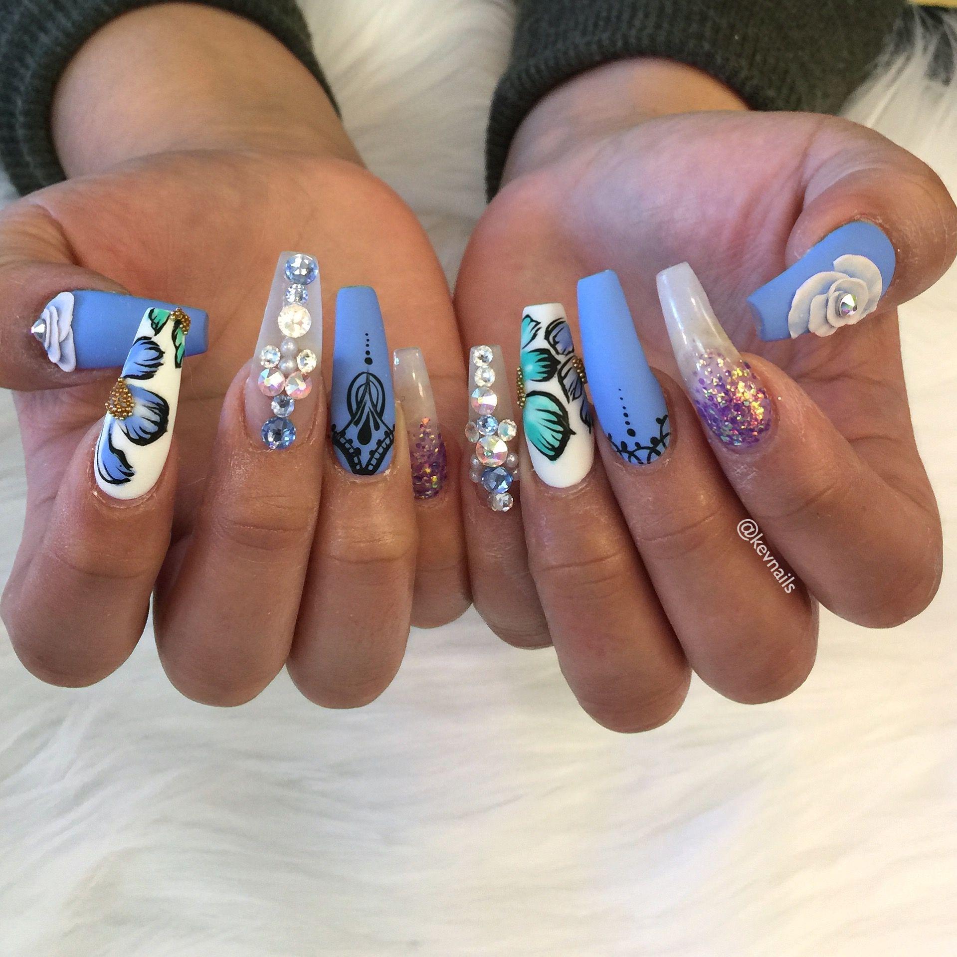 Pin by Kevin Quach on nail art, nail designs, dope nails | Pinterest ...