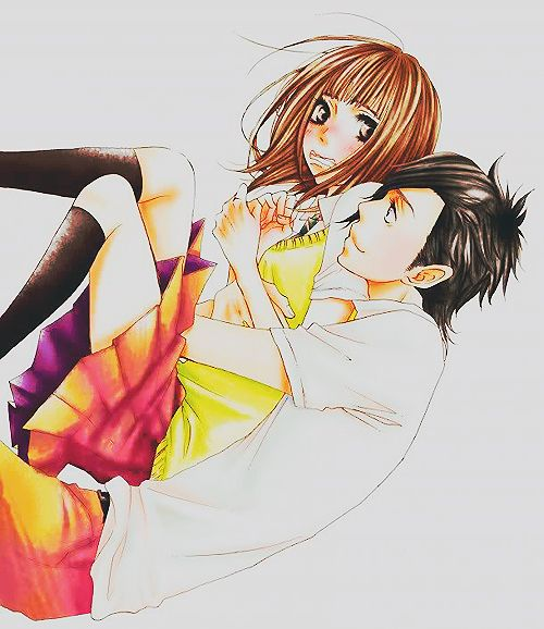 "Mei and Yamato from Say ""I Love You"". :)"