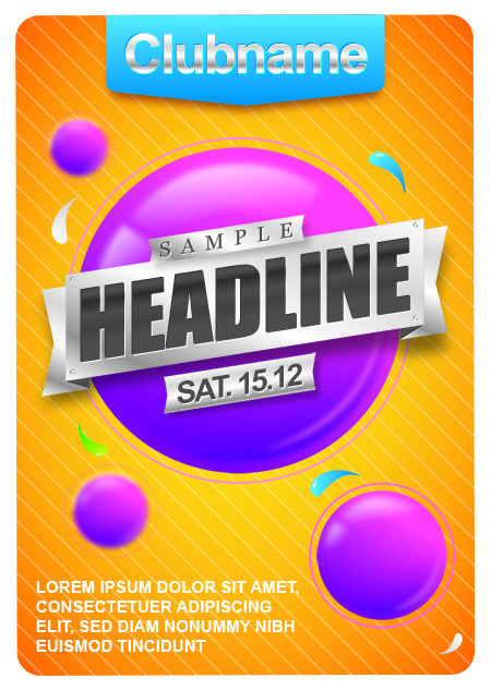 Flyer Template | PSD | Pinterest | Flyer template, Photoshop and ...