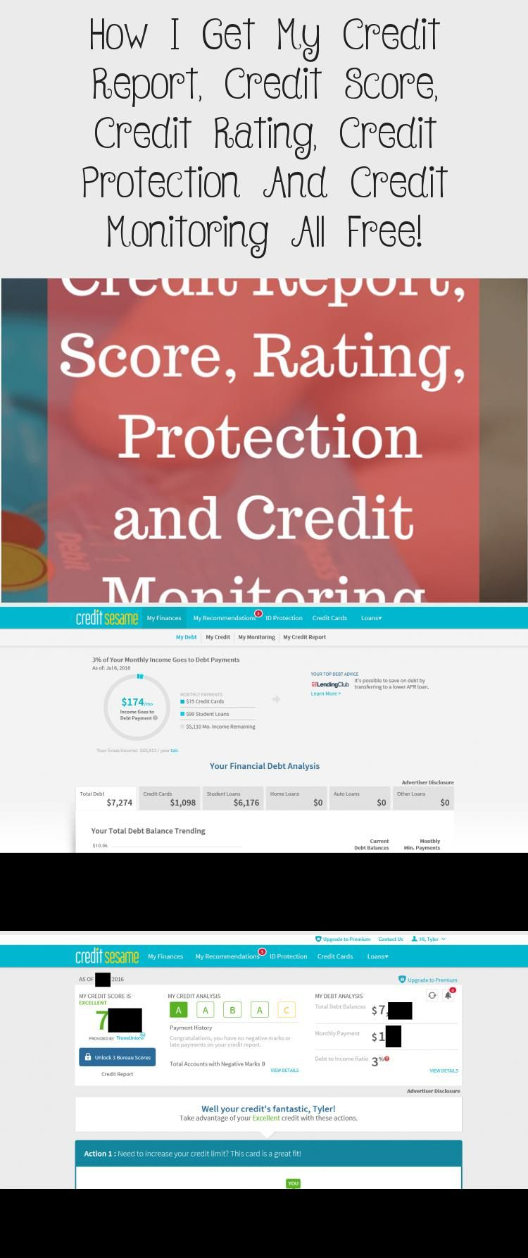 how to get free credit score report