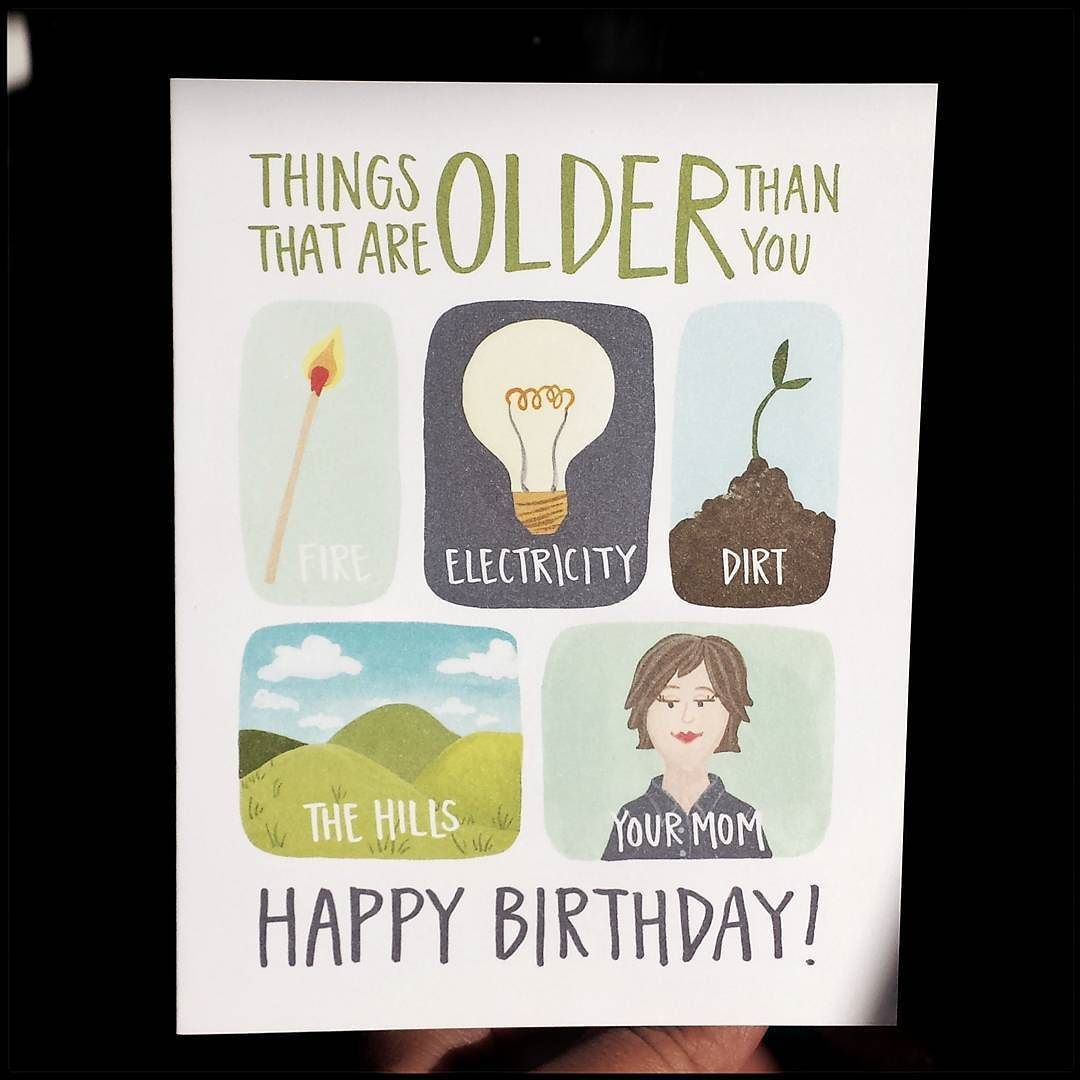 Heres a birthday card that delivers a light ribbing tee hee old explore birthday cards toronto and more bookmarktalkfo Gallery