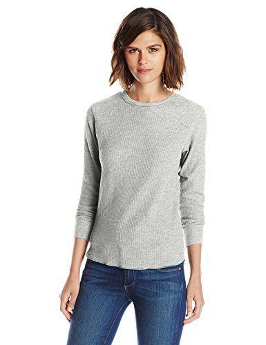 Hanes Womens X-Temp Thermal Underwear Crew Shirt