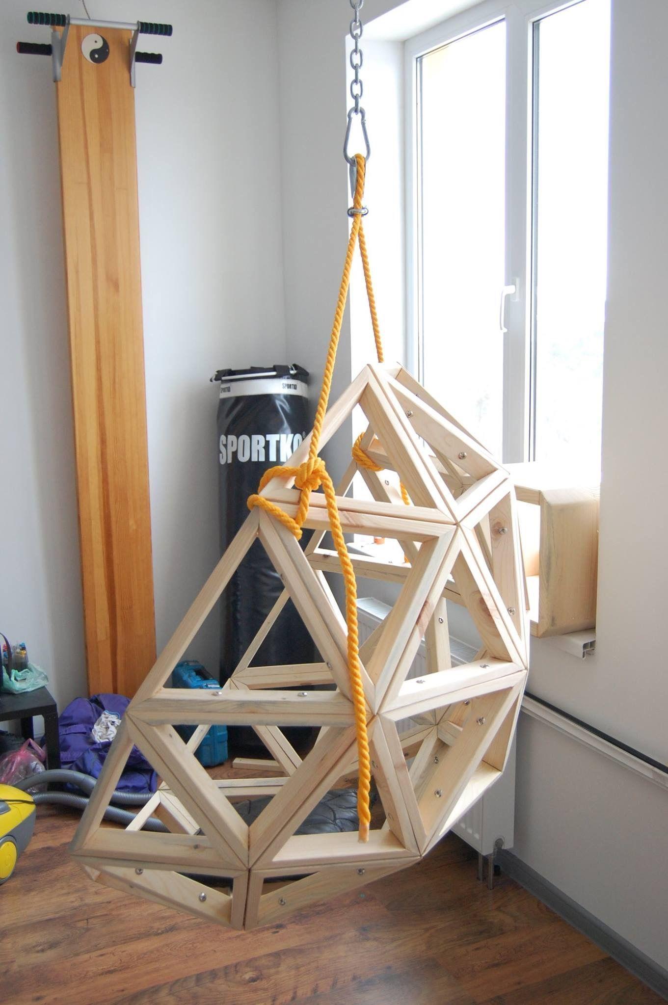 Quejlaverga Chino De Madera Woodenhangingchair Muebles