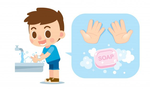 23+ Child washing hands clipart ideas in 2021