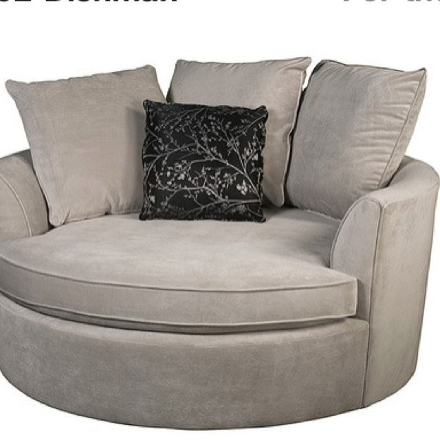 Big And Comfy Round Chair Yummy Pinterest