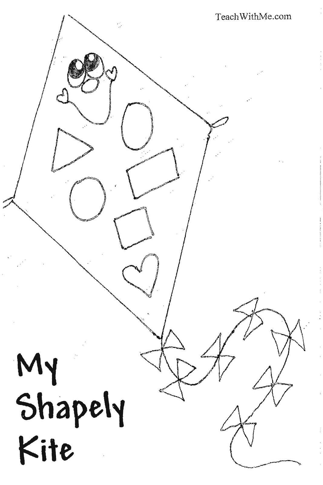 Pk 2 My Shapely Kite Booklet