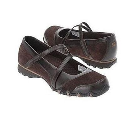 0aa5673e287f Skechers Bikers Step Up Womens Mary Jane Shoes Wide Width