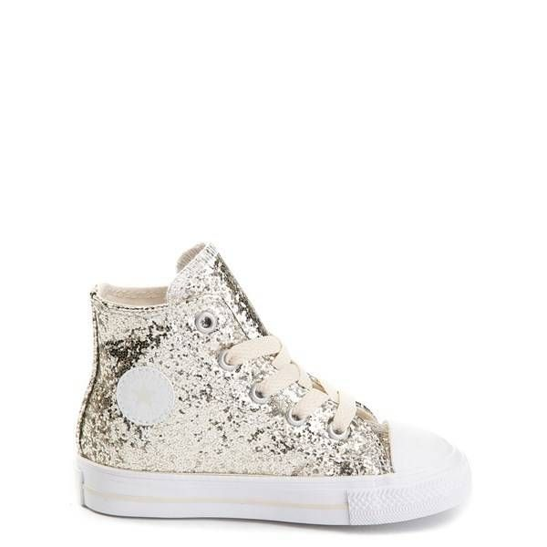 e159f914d662 Alternate view of Toddler Converse Chuck Taylor All Star Hi Glitter Sneaker