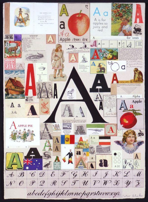 Http C300221 R21 Cf1 Rackcdn Com Peter Blake An Alphabet A 1346705493 B Jpg Peter Blake Text Art Illustrators