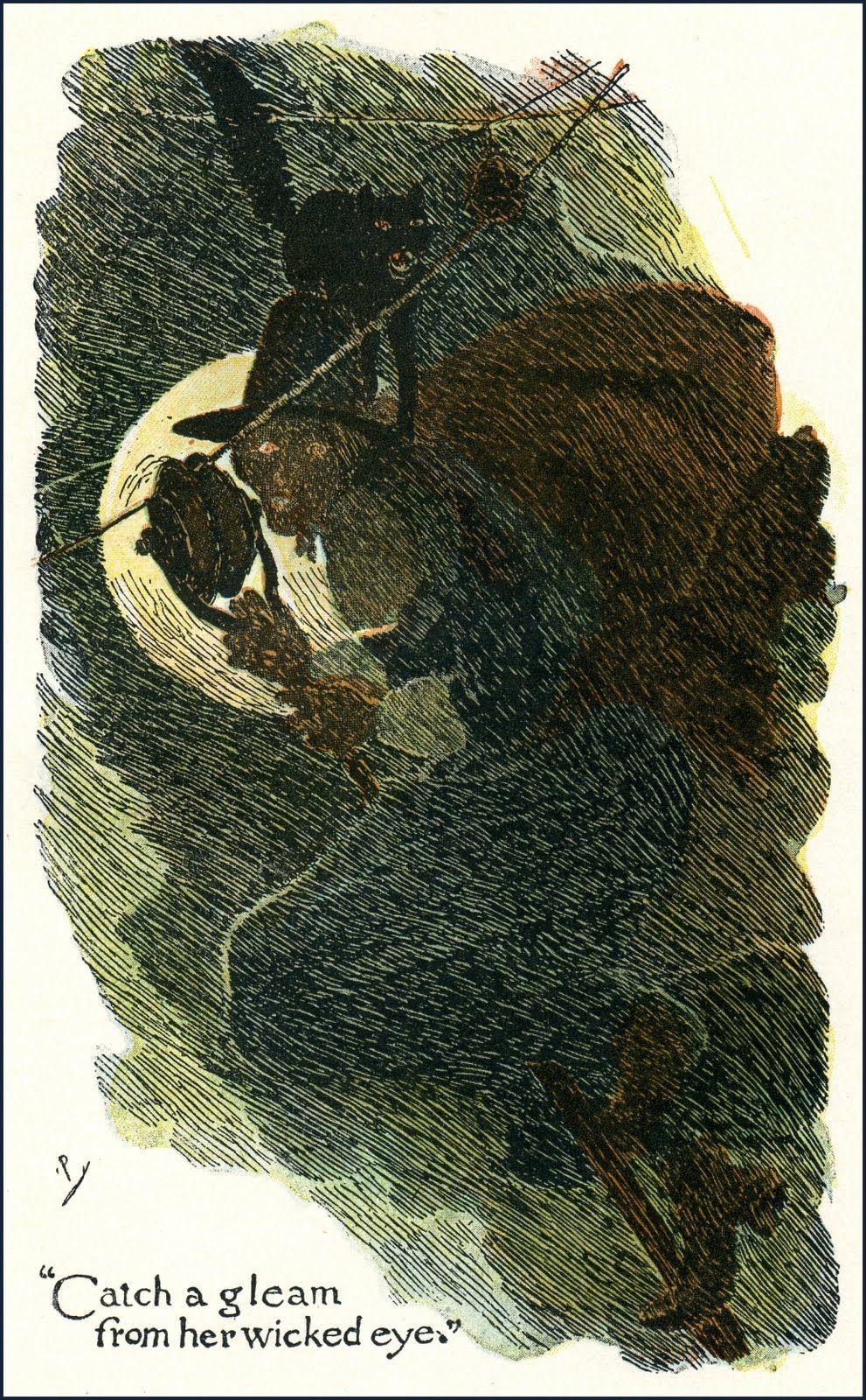 "Howard Pyle (1853 1911) illustration for ""The Broomstick"