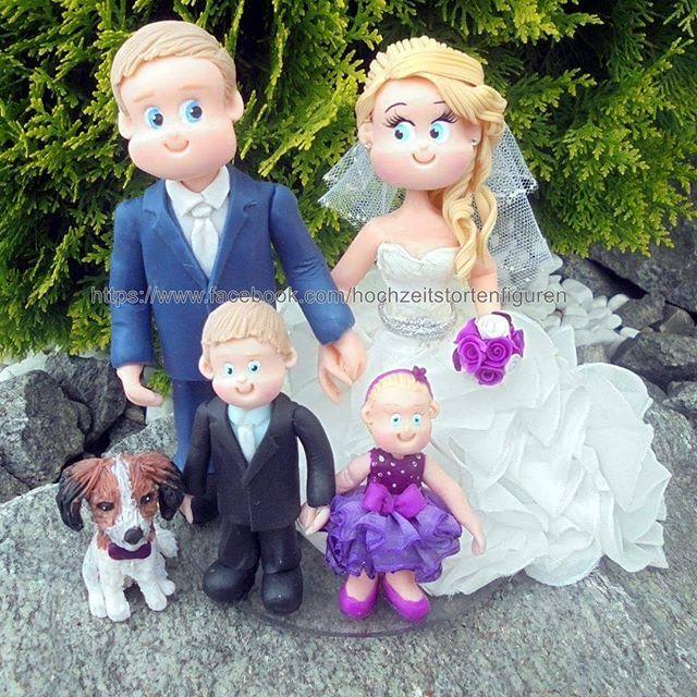 Https Www Facebook Com Hochzeitstortenfiguren Familycaketopper