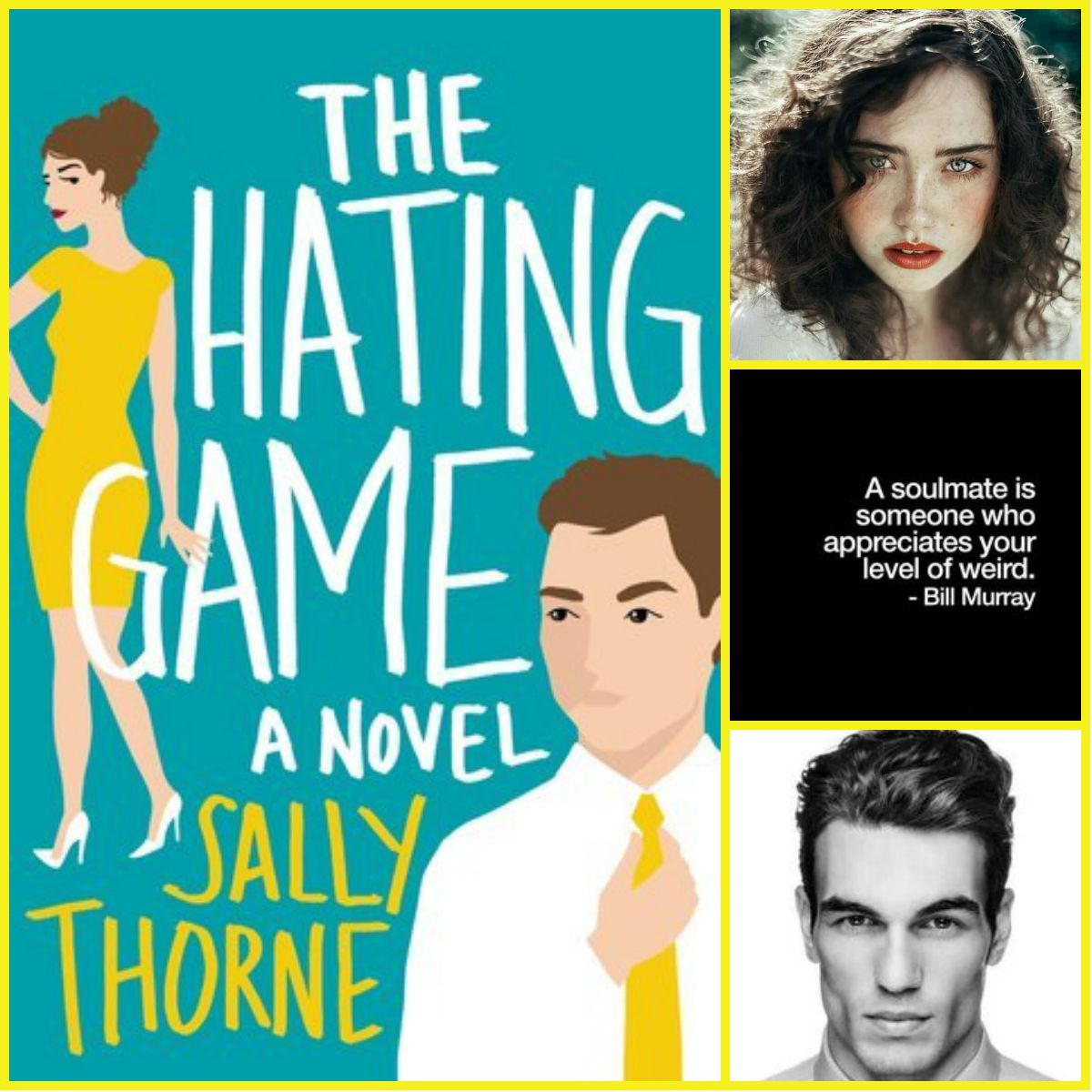 The Hating Game by Sally Thorne The hating game, Book