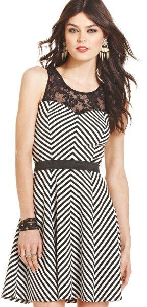 Black and White Dresses for Juniors 7 | Dresses | Pinterest | Black