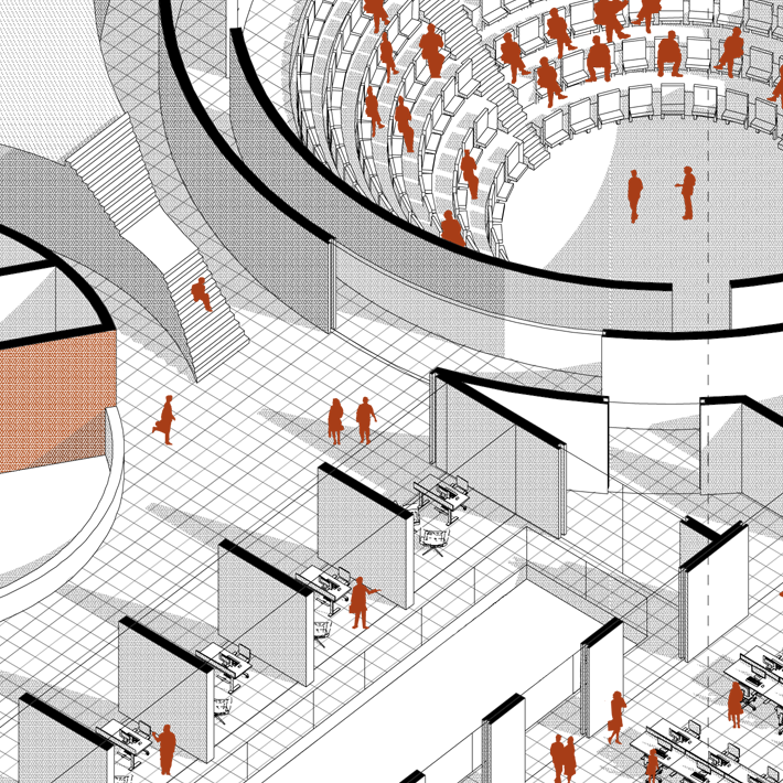 3d Floor Plan Isometric: Patrick Taft Architecture - 3D Isometric Drawing