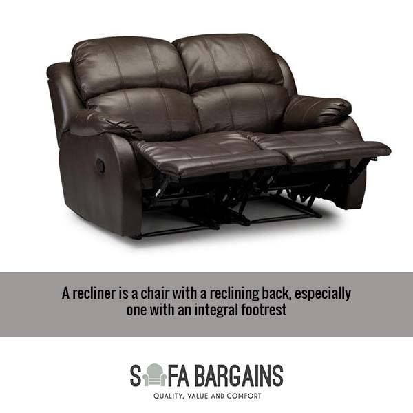 A Recliner Is A Sofa With A Reclining Back And An Integral Footrest Perfect  For Boxing