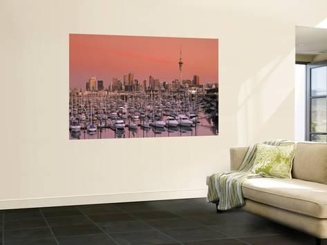 Wall Mural: Westhaven Marina, Auckland, New Zealand Wall Sticker by ...