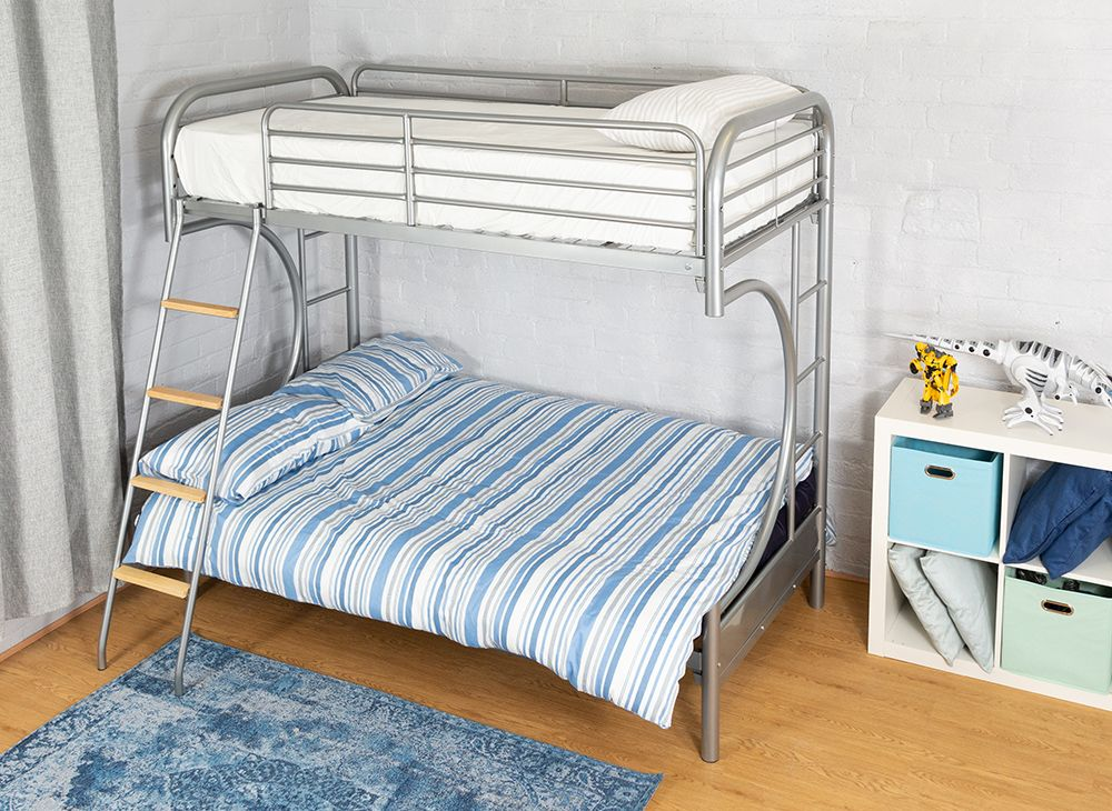 Ideas Futon Bunk Bed With Mattress Included Futon Bunk Bed Bed