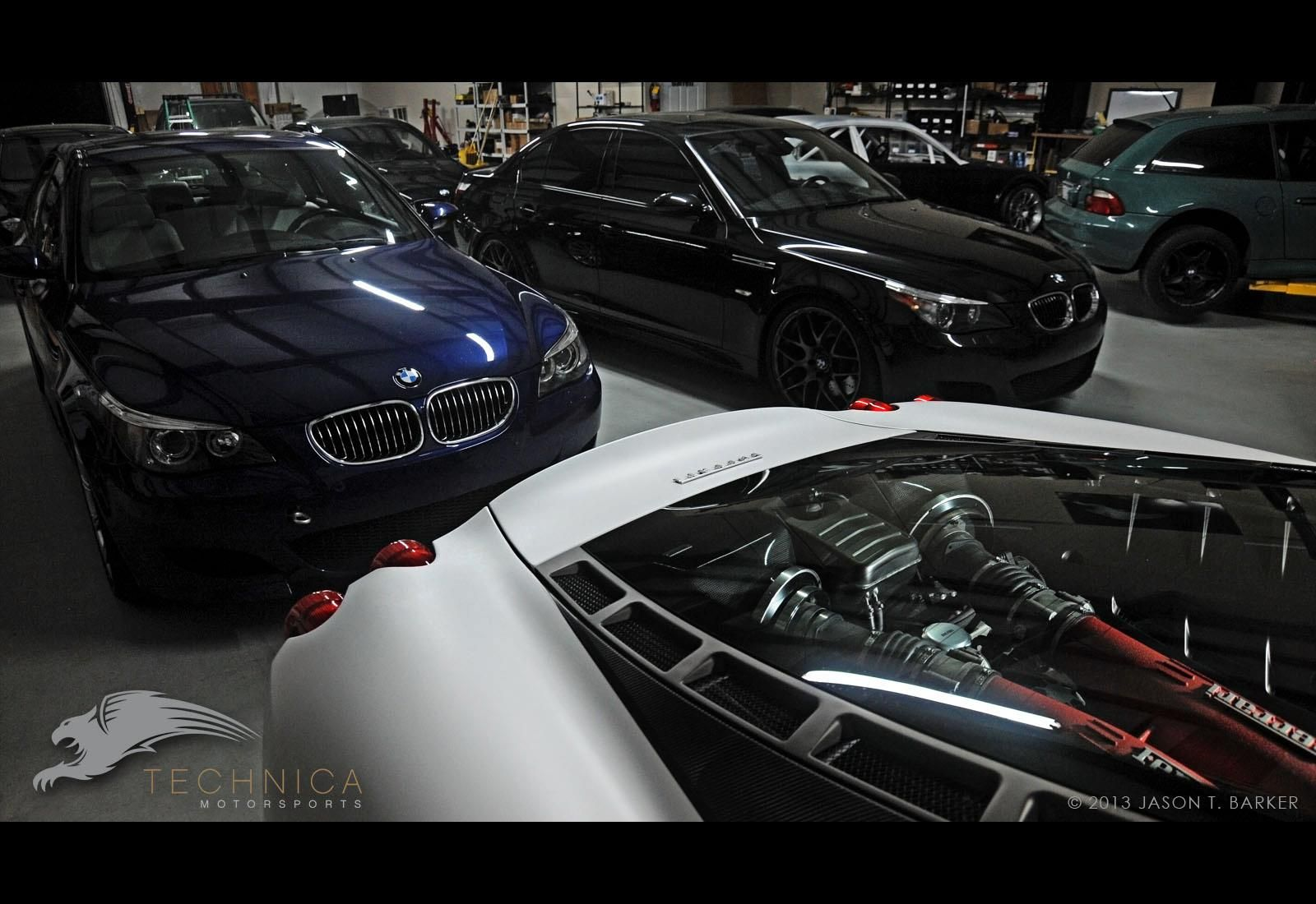 Technica Motorsports garage Atlanta, Ga Dream garage